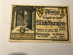 Allemagne Notgeld Muhlhausen 50 Pfennig NEUF - Collections