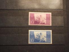 ITALIA REPUBBLICA - 1948 COSTITUZIONE 2 VALORI - NUOVO(++) - 6. 1946-.. Repubblica