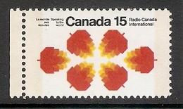 003536 Canada 1971 15c Phosphor Bands MNH - 1952-.... Reign Of Elizabeth II