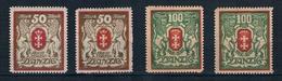 Danzig Michel Nr. 100 - 101 X+Y Postfrisch Mit Falz - Danzig