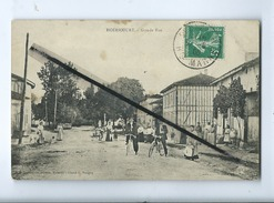 CPA - Abîmée - Hoéricourt  -  Grande Rue - France