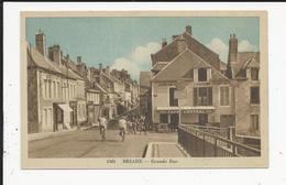 Briare  Grande Rue Avec Café Central - Briare