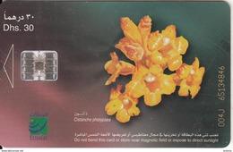 U.A.E.(chip) - Flower 9/Cistanche Phelypaea, CN : 004J, Used