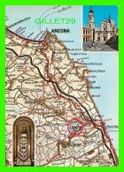 CARTES GÉOGRAPHIQUES - MAPS -LORETO - DALA CARTA AUTOMOBILISTICA - - Cartes Géographiques