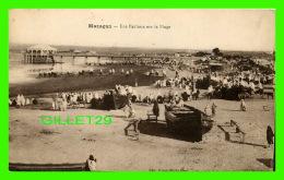 MAZAGAN, MAROC - UNE FANTASIA SUR LA PLAGE - ANIMÉE - A. THIRIAT - EDIT. BOYER, PHOTO, CLARK - - Maroc