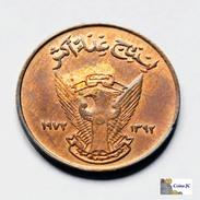 Sudan - 5 Millim - 1972 - Soedan
