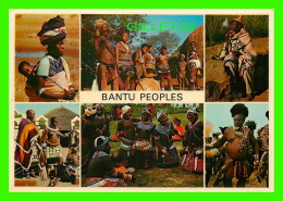 AFRIQUE DU SUD - BANTU PEOPLES -  6 MULTIVIEWS - FEMMES AUX SEIN NUES - ARTCO POST CARD - - Afrique Du Sud