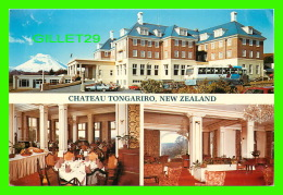 NEW ZEALAND - CHATEAU TONGARIRO - 3 MULTIVIEWS - MT. NGAURUHOE - - Nouvelle-Zélande