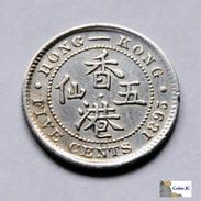 Hong Kong - 5 Cents - 1895 - Hongkong