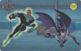 Télécarte Brésil - SUPERMAN & BATMAN - Manga Cinema Bat - JUSTICE LEAGUE Movie Anime Phonecard Kino Telefonkarte - 7984 - Kino