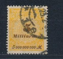 Duitse Rijk/German Empire/Empire Allemand/Deutsche Reich 1923 Mi: 327AW Yt: 322 (Gebr/used/obl/o)(2258) - Duitsland
