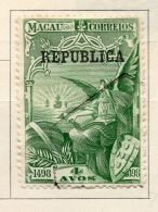 Macao 1913 Early Issue Fine Used 4a. Optd 152327