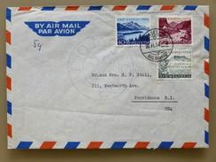 SUISSE / SCHWEIZ /SWITZERLAND // 1954, Lettre - Brief, PRO PATRIA 1954, BASEL 30.VI.54 => USA