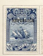 Macao 1913 Early Issue Fine Mint Hinged 8a. Optd 152328