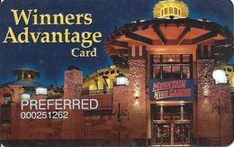 Mountain High Casino - Black Hawk, CO USA - Slot Card - PREFERRED Temp Card - Casino Cards