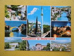 MOSTAR. Multivues. - Bosnia Erzegovina