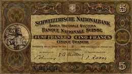 SUISSE 5 FRANCS Du 22-2-1951 - Switzerland
