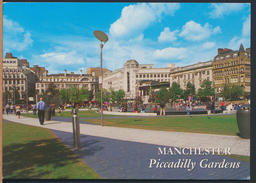 °°° 4197 - UK - MANCHESTER - PICCADILLY GARDENS - With Stamps °°° - Manchester
