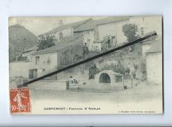 CPA -   Damrémont  -  Fontaine St Nicolas - Autres Communes