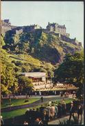 °°° 4198 - SCOTLAND - EDINBURGH - PRINCES STREET GARDENS AND BANDSTAND - 1979 With Stamps °°° - Midlothian/ Edinburgh
