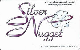 Mahoney's Silver Nugget Casino - Las Vegas, NV - BLANK Slot Card - Cartes De Casino