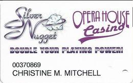 Mahoney's Silver Nugget Casino - Las Vegas, NV - Slot Card - Casino Cards