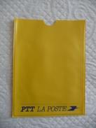 """Porte-Livret CNE Au Logo PTT De """"LA POSTE"""" (couleur Jaune) - Pubblicitari"""