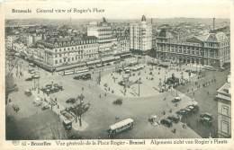 BRUXELLES - Vue Générale De La Place Rogier - Multi-vues, Vues Panoramiques