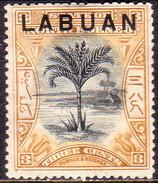 NORTH BORNEO LABUAN 1897 SG #91b 3c MH(heavy Hinge) Perf.15 CV £9 - North Borneo (...-1963)