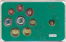 LATVIA LETTONIE LETTLAND COMMEMORATIVE EURO COINS SET BIMETAL IN FOLDER 2014 - Lettonie