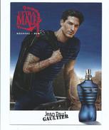 Carte Parfumée - Ultra Mâle Parfum Homme De Jean Paul Gautier Avec échantillon Incorporé - Parfumkaarten