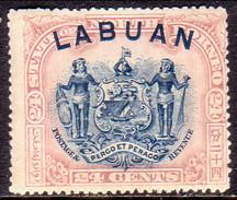 NORTH BORNEO LABUAN 1897 SG #100c 24c MH Perf.16 CV £60 - North Borneo (...-1963)