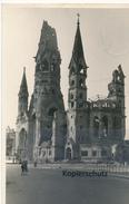 AK Berlin, Kaiser-Wilhelm-Gedächtnis-Kirche - Deutschland