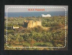 United Arab Emirates UAE Fujairah Picture Postcard Fujairah Fort View Card - Emirati Arabi Uniti