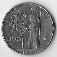 Italy 1979 100 Lire [C253/1D] - 1946-… : Republic