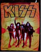 Kiss - Posterflagge - Posterfahne - Poster, Flagge  -  Größe Ca. 78 X 107 Cm  -  Polyester - Plakate & Poster