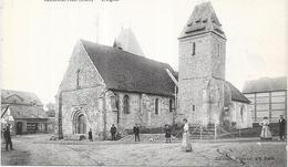 CHARLEVAL - 27 - Une Vue ANIMEE De L'Eglise  - LYO87 - - Other Municipalities