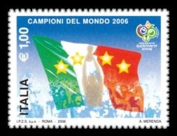 Italy 2006 Mih. 3133 Football. Italy - Winner Of FIFA World Cup MNH **