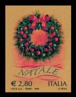 Italy 2008 Mih. 3275 Christmas (II). Christmas Wreath MNH **