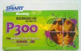 Philippines Phonecard Smart 300 Pesos Eraserheads