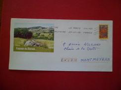 Entier 3255-E8   Paysage Du Morvan  Nièvre Le 29/7/2008 TB - Prêts-à-poster:  Autres (1995-...)
