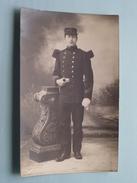 SOLDAAT / Militair / Soldier : Gala Uniform Anno 1912 ( Foto Beniest-Kölgen Berchem / Zie Foto Voor Details ) !! - Personen