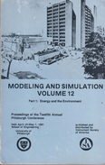 Modelling And Simulation: Energy And The Environment Vol 12 Part 1: Energy And The Environment By Mickle & Vogt - Books, Magazines, Comics