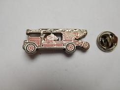 Pompiers SP , Camion échelle - Brandweerman