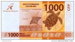 Polynésie Française - 1000 FCFP - 2014 / Signatures Noyer-de Seze-La Cognata - Neuf  / Jamais Circulé - Papeete (French Polynesia 1914-1985)