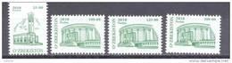 2010.  Uzbekistan, Definitives, Architecture, 4v,  Mint/** - Uzbekistan