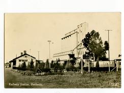 A 19783   -   Heilbron  -  Railway Station  -  Photocarte  -  South Africa - South Africa