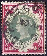 Great Britain 1900 - Queen Victoria - Jubilee ( Mi 101 - YT 104 ) - 1840-1901 (Victoria)