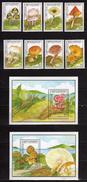 Grenada 1991 Fungi.mushrooms.champignons.2 S/S And Stamps.MNH - Grenada (1974-...)