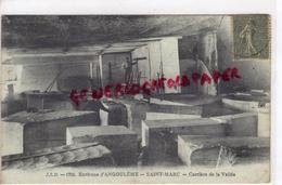 16 - SAINT MARC- ENVIRONS D' ANGOULEME - CARRIERE DE LA VALLEE - EDITEUR JSD N° 1715 - CARRIERES DE PIERRE - Autres Communes